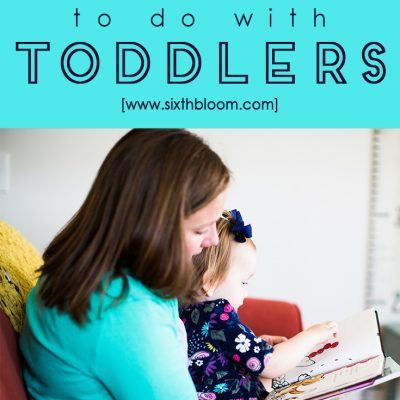 Indoor Learning Activities for Toddlers
