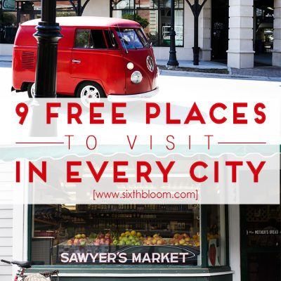 9 Free Places to Visit in Every City