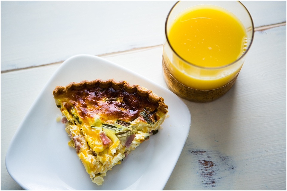 Ham & Cheese Quiche | Recipe