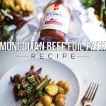 Mongolian Beef Foil Pack | Recipe