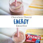 Chocolate Cherry Energy Smoothie