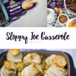 Sloppy Joe Casserole | Immaculate Baking