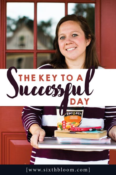 The Secret to a Successful Day