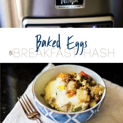 Baked Egg in Breakfast Hash Recipe