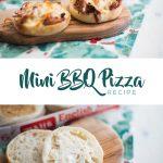 Mini BBQ Chicken Pizza Recipe