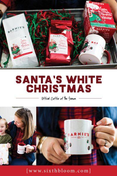Barnie's Coffee | Santa's White Christmas