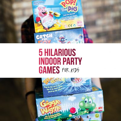 5 Hilarious Indoor Party Games for kids