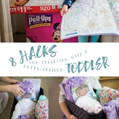 8 Hacks for Traveling with a Potty Trained Toddler