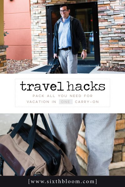 Travel Hacks: Pack All You Need for Vacation in ONE Carry-On