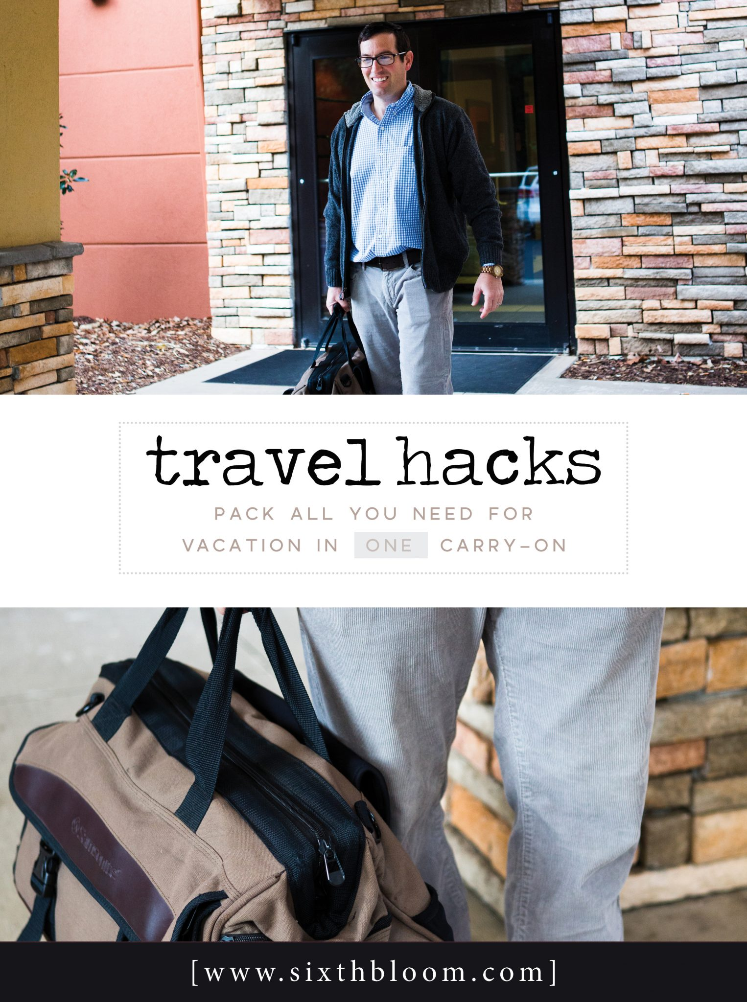 carry on packing hacks