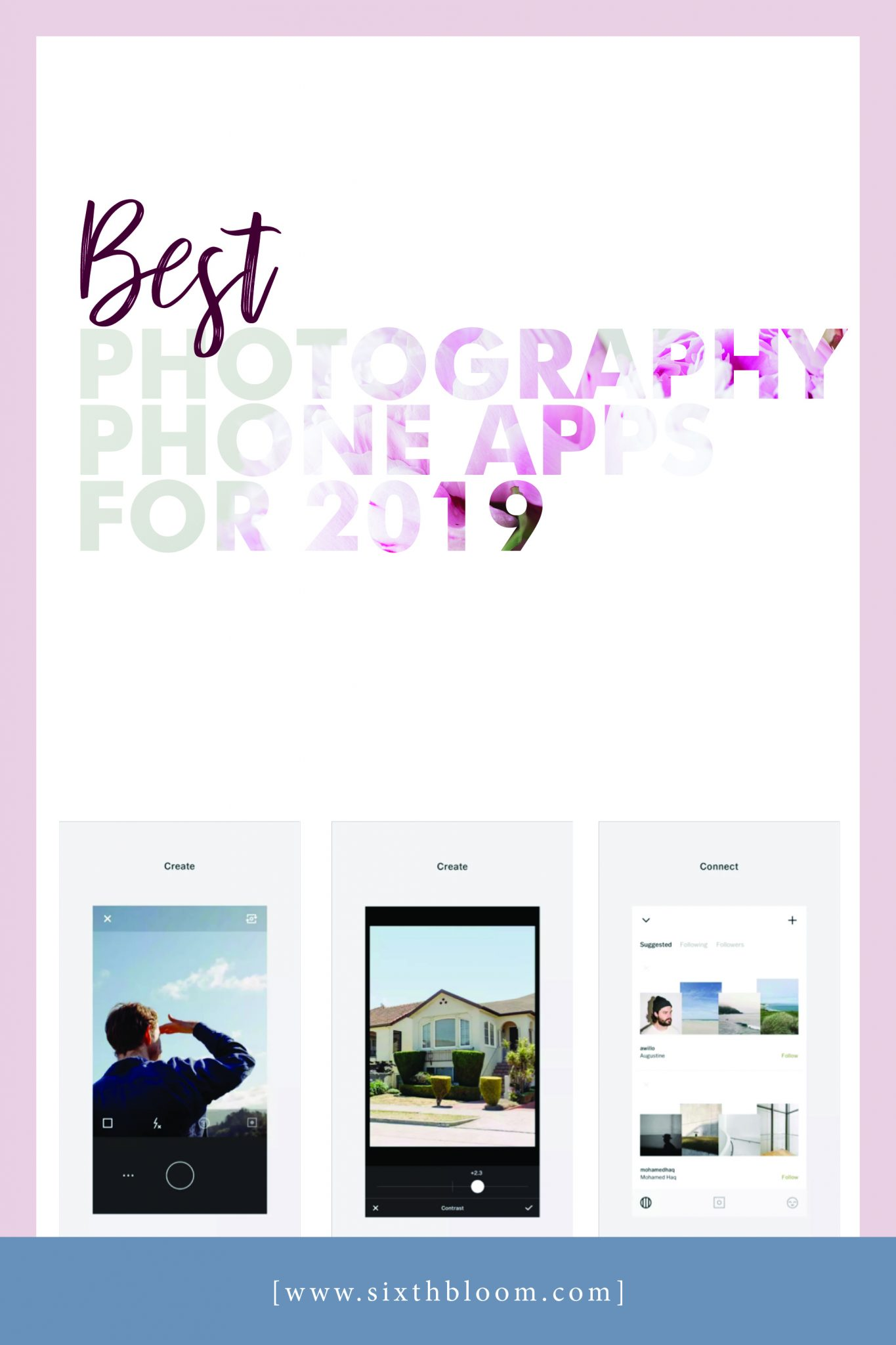 2019 iphone photo apps