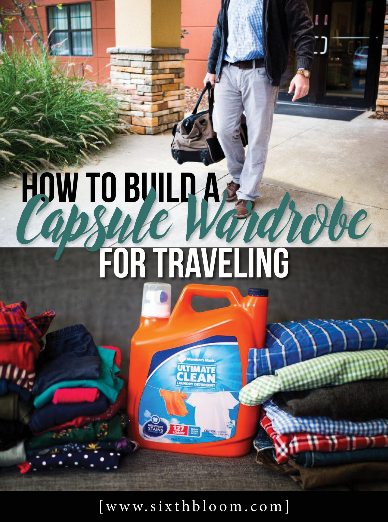 How to Build a Capsule Wardrobe for Traveling