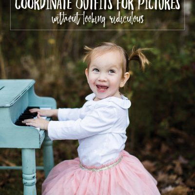 6 Tips to Coordinate Outfits for Pictures without looking Ridiculous
