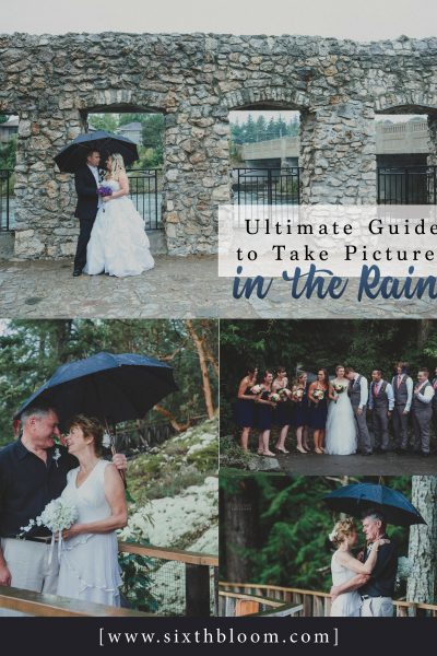 Ultimate Guide to Take Pictures in the Rain