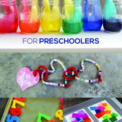 35+ STEAM Activities for Preschoolers