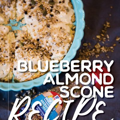 Blueberry Almond Scone Recipe