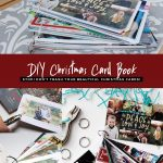 DIY Christmas Card Book