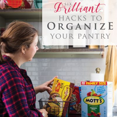 6 Brilliant Hacks to Organize Your Pantry