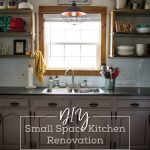 DIY Small Space Kitchen Renovation