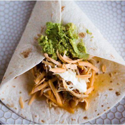 Instant Pot Chicken Fajita Taco Recipe