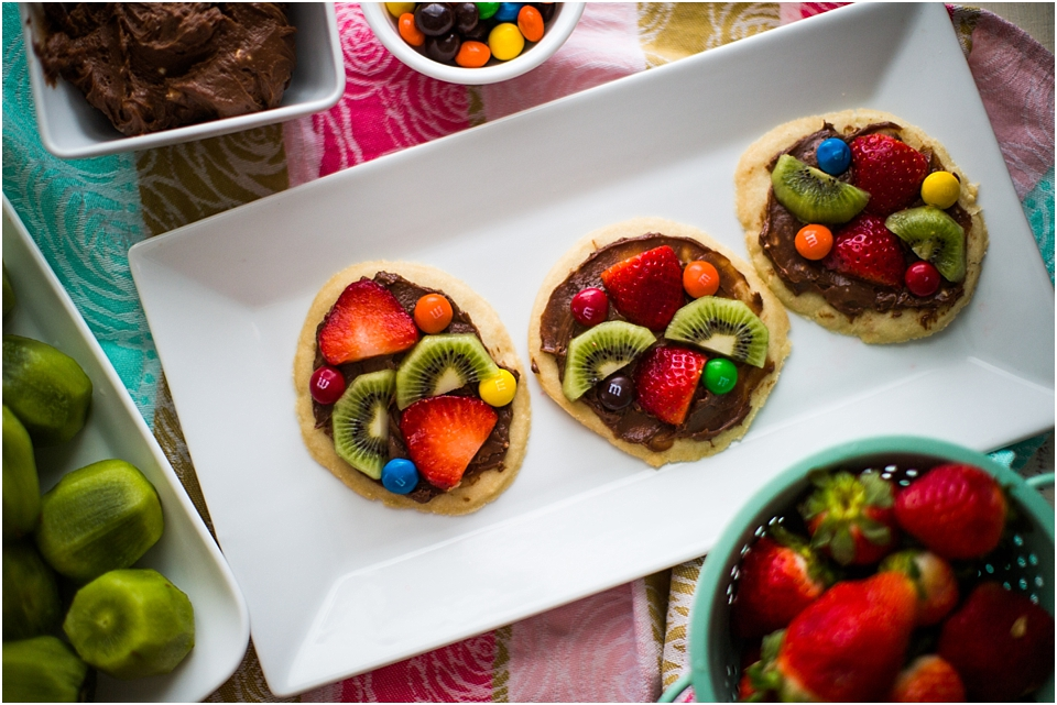 recipe mini fruit pizza