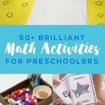 50+ Brilliant Math Activities for Preschoolers
