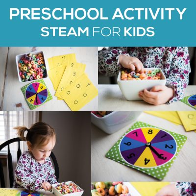 Spinner Math | Math Activities for Preschoolers