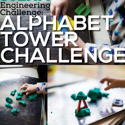 Alphabet Towers Engineering Preschool Activities