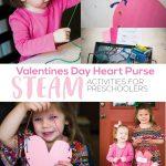 Valentines Day Heart Purse | STEAM Activities