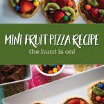 Mini Easter Fruit Pizza Recipe