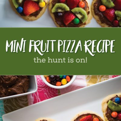 Mini Easter Fruit Pizza Recipe