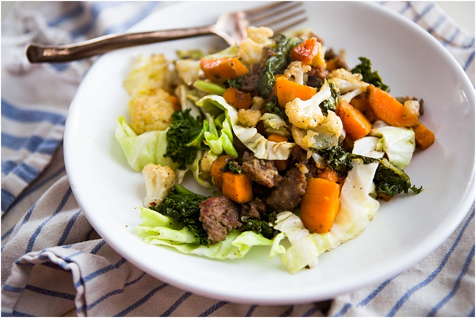 sausage vegetable recipe