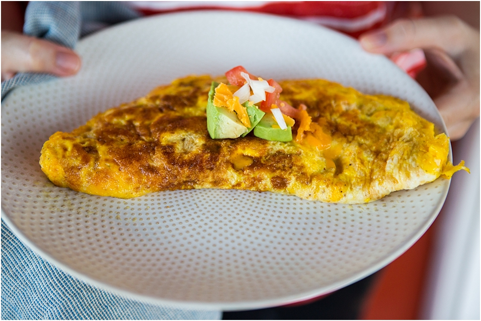 breakfast omelet recipe