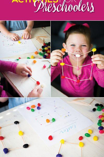 Easter Engineering Activities for Preschoolers