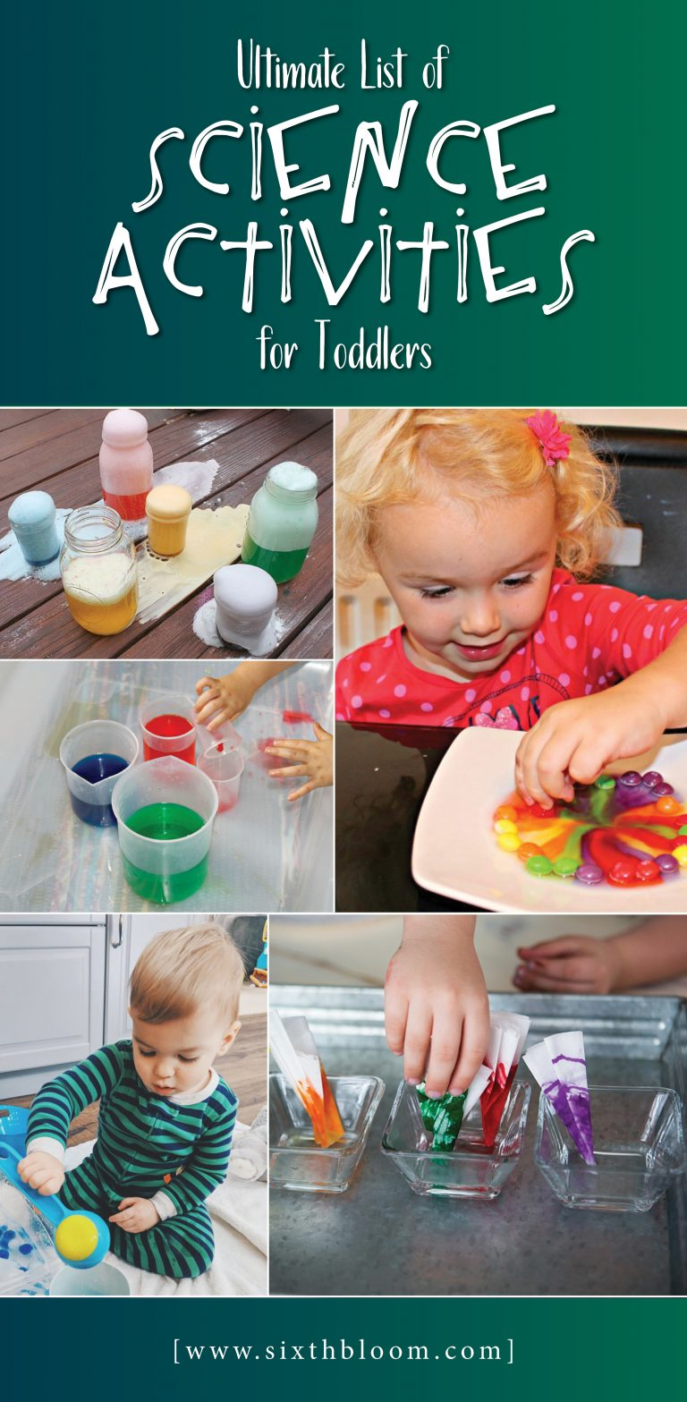 science activities toddlers toddler experiments stem preschoolers steam fun projects easy experiment babies simple motor sixthbloom