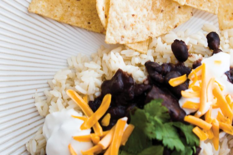 Instant Pot Caribbean Black Bean Recipe