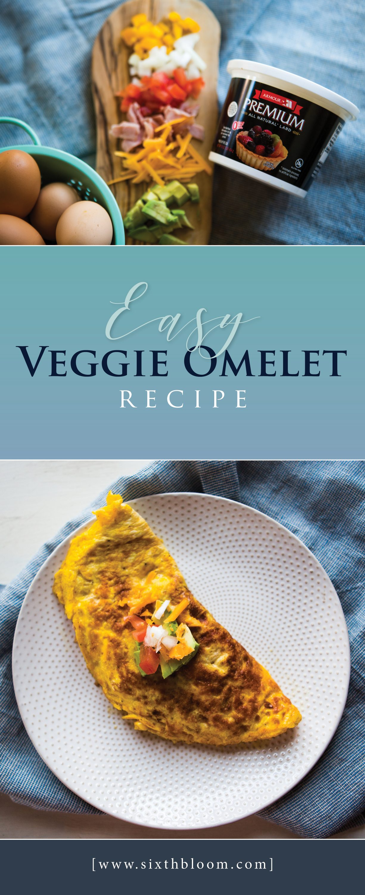easy veggie omelet recipe