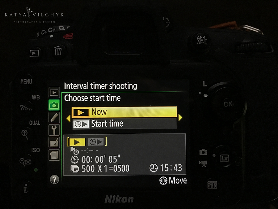 How to use the Interval Timer on Your Camera