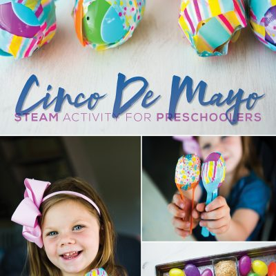 How to Make Easter Egg Maracas – Preschool STEAM