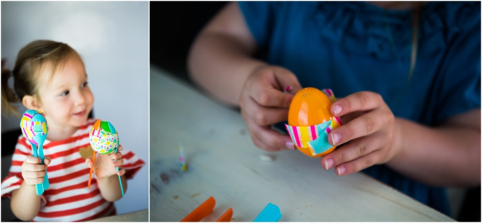 how to make maracas with easter eggs