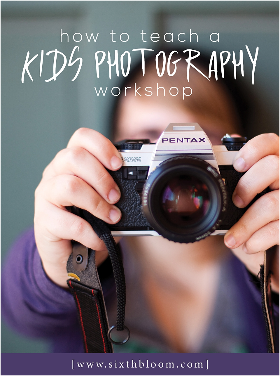 kids photography workshop