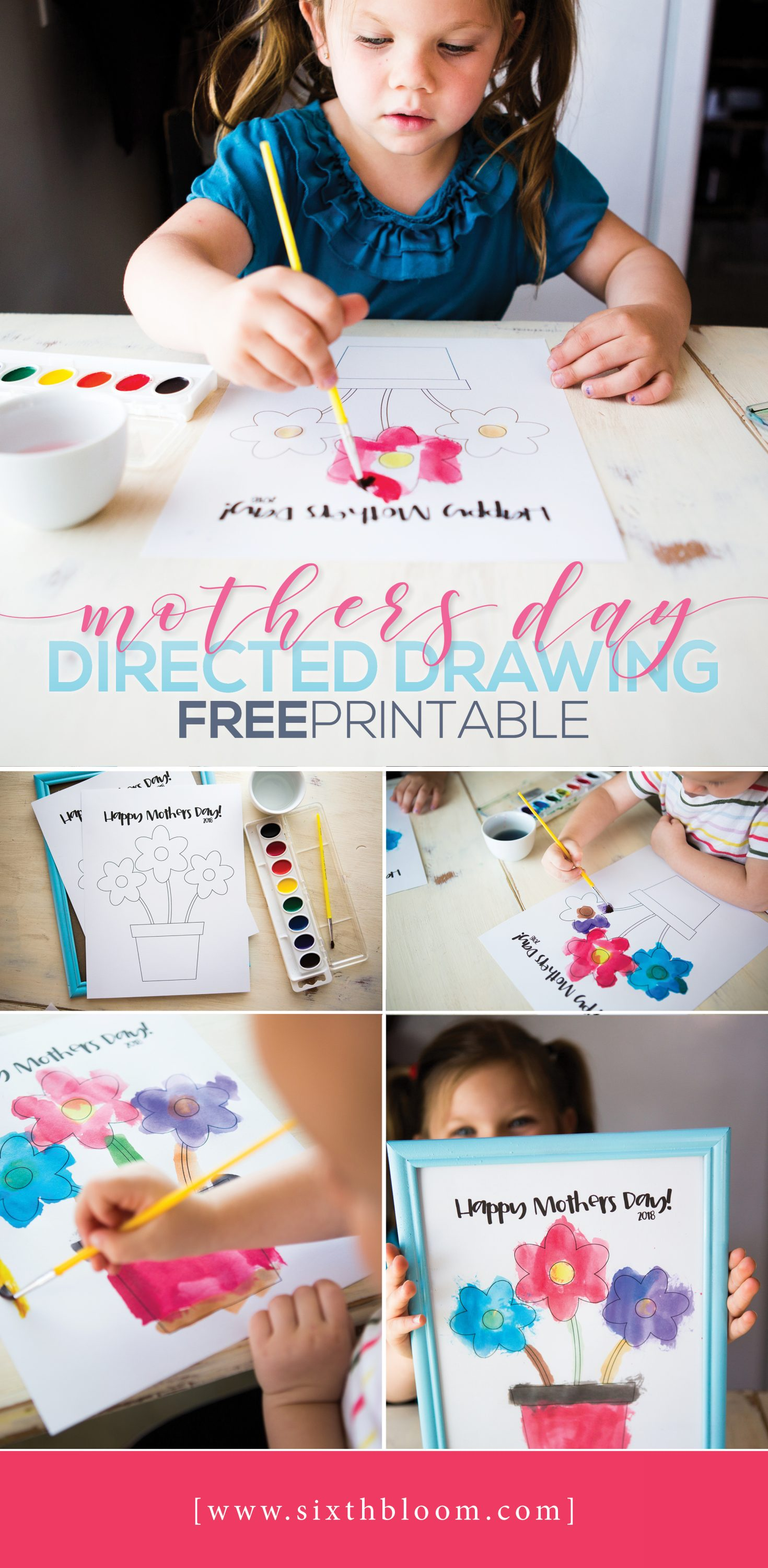 Mothers Day Directed Drawing, STEAM Activities for Preschoolers, #STEMKIDS #STEAM #STEM #Preschool #preschooler #preschoollearning #Directeddrawing #MothersDay #HandmadeMothersDay #MothersDayCraft