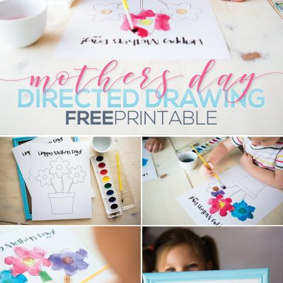 Mothers Day Directed Drawing – FREE Printable