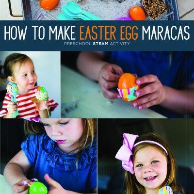 How to Make Easter Egg Maracas – Preschool STEAM