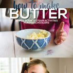How to Make Butter Simple Science for Preschoolers