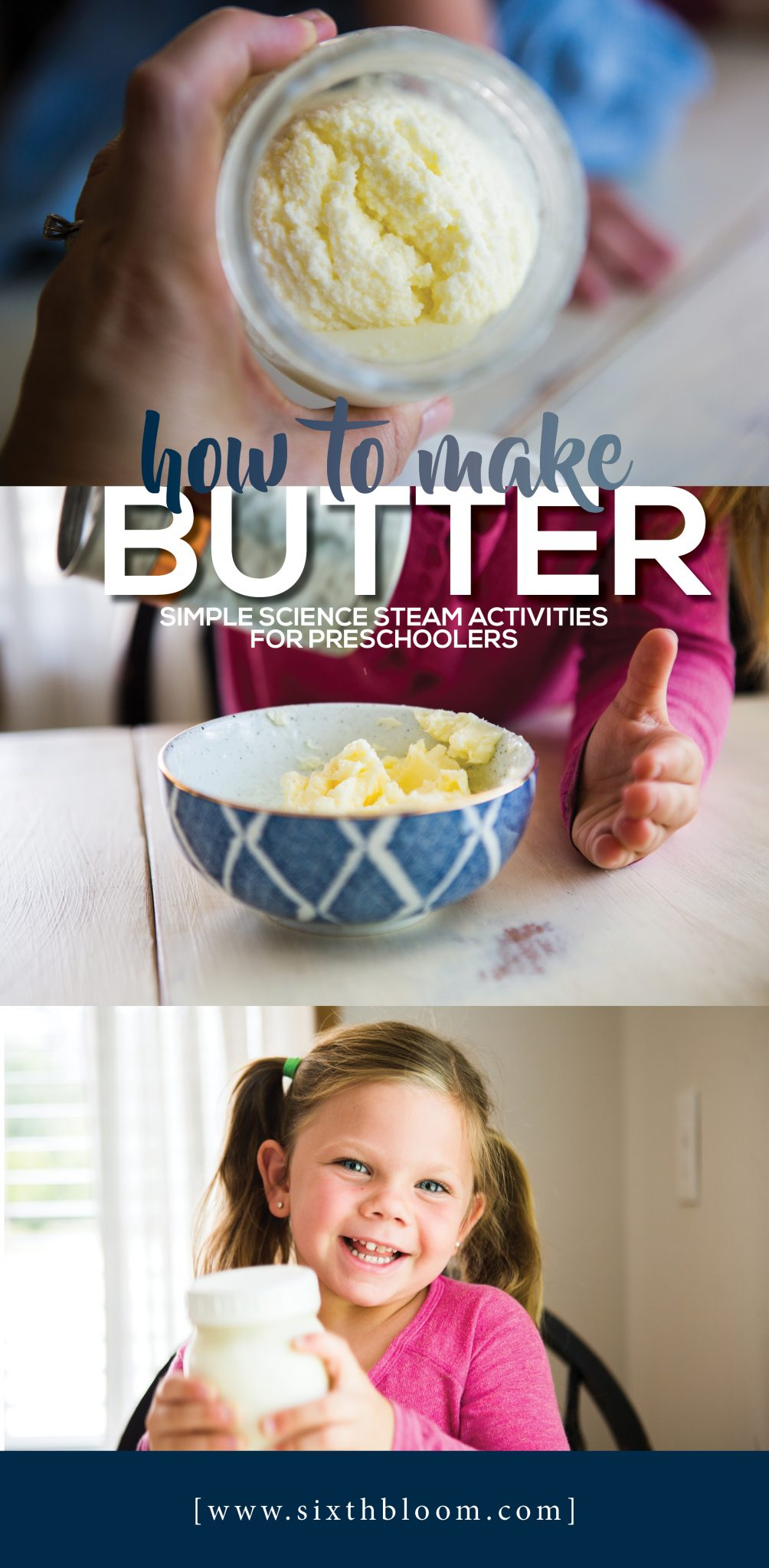 How to Make Butter - Simple Science for Preschoolers