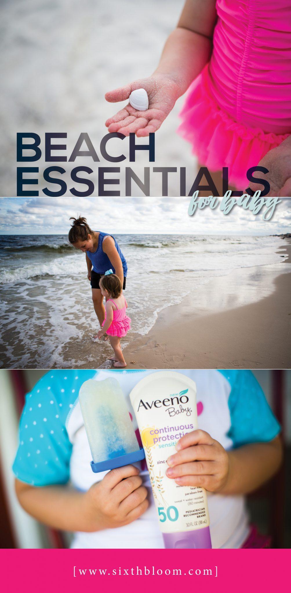beach essentials for baby