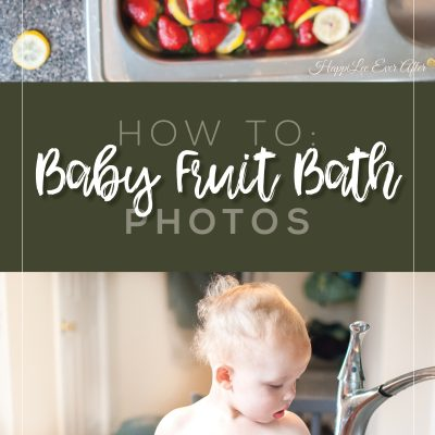 How to Shoot a Fruit Bath Photo Session