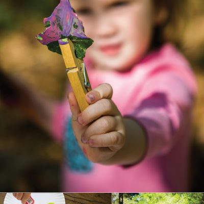 Painting with Nature – STEAM Activities for Preschoolers
