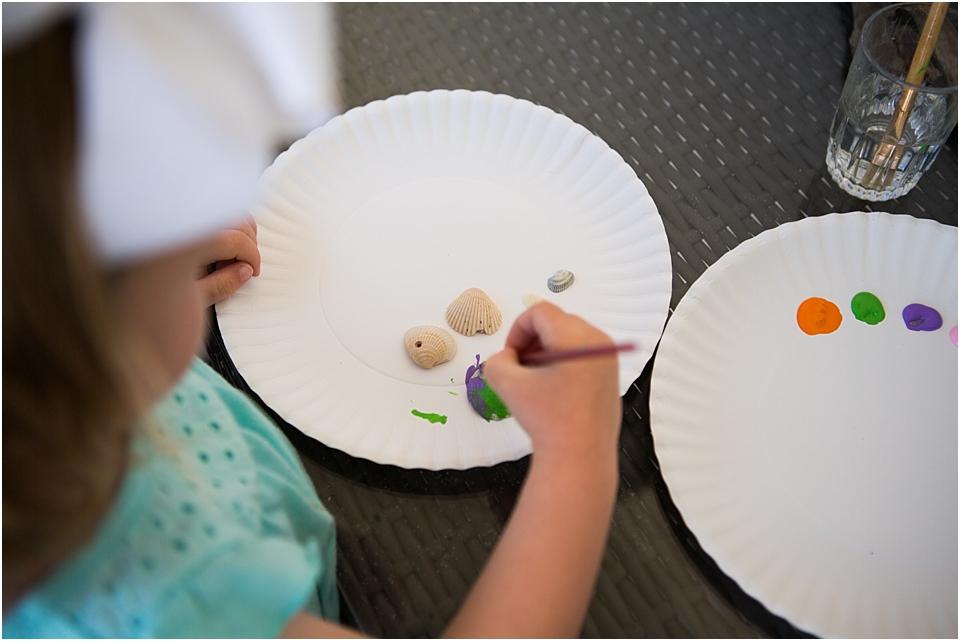 easy seashell craft